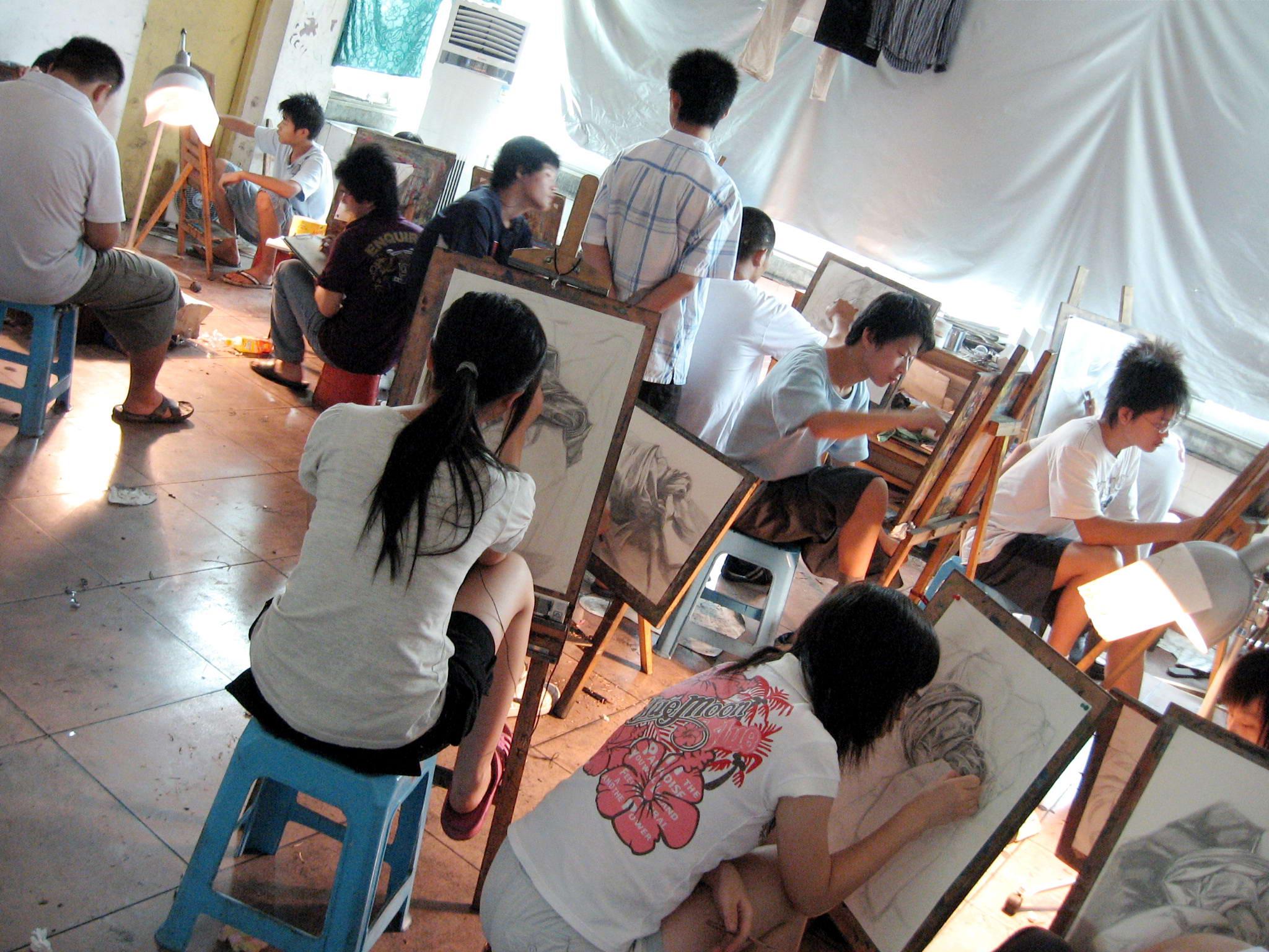 幼儿画画培训班