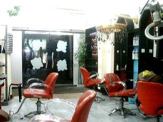 个性美发店名 60平米美发店装修图 个性美发店名