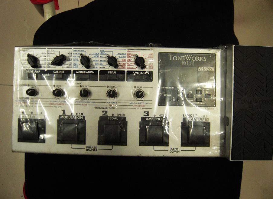 korgax1500g电吉他效果器