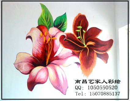 南昌艺家人手绘墙